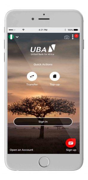 UBA Mobile Banking 1