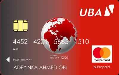Prepaid Cards - UBA Uganda